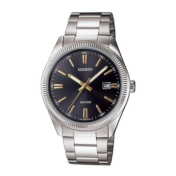 Casio MTP1302D-1A2V Hombres Relojes
