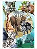 Tampa's Lowry Park Zoo, Florida - Wildlife Montage (9x12 Collectible Art Print, Wall Decor Travel Poster) offers