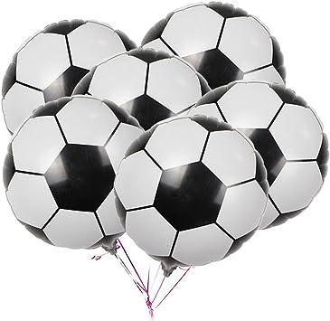 Amazon.com: Paquete de 20 globos de fútbol, de aluminio ...