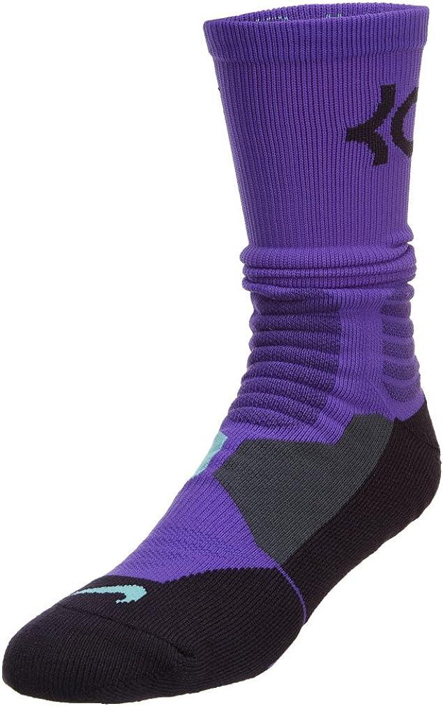 Green NIKE HYPER ELITE Basketball Crew Socks SX4801-807 Large Atomic Mango