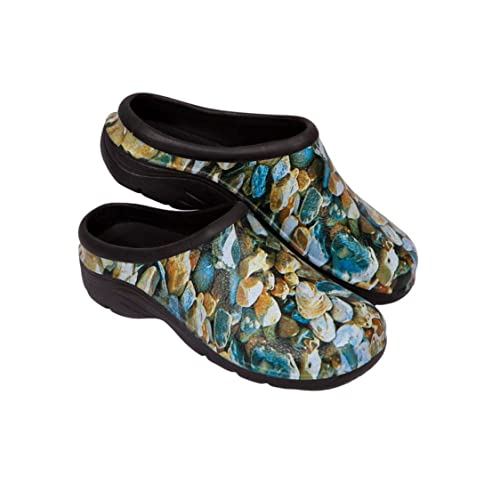ec5720dc327 Zuecos Sanitarios- Zuecos Enfermeros- Cómodos y Originales Backdoorshoes®-  Modelo Piedras Hombre-