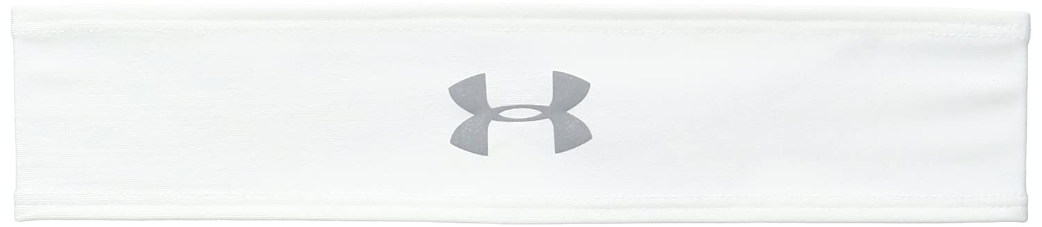 Amazon.com : Under Armour Womens Armour Tie Headband, Black/Silver, One Size : Sports & Outdoors