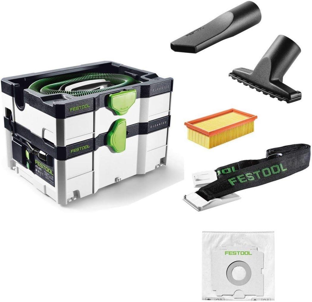 Festool CTL SYS - Extractor de polvo (Negro, Verde, Color blanco ...