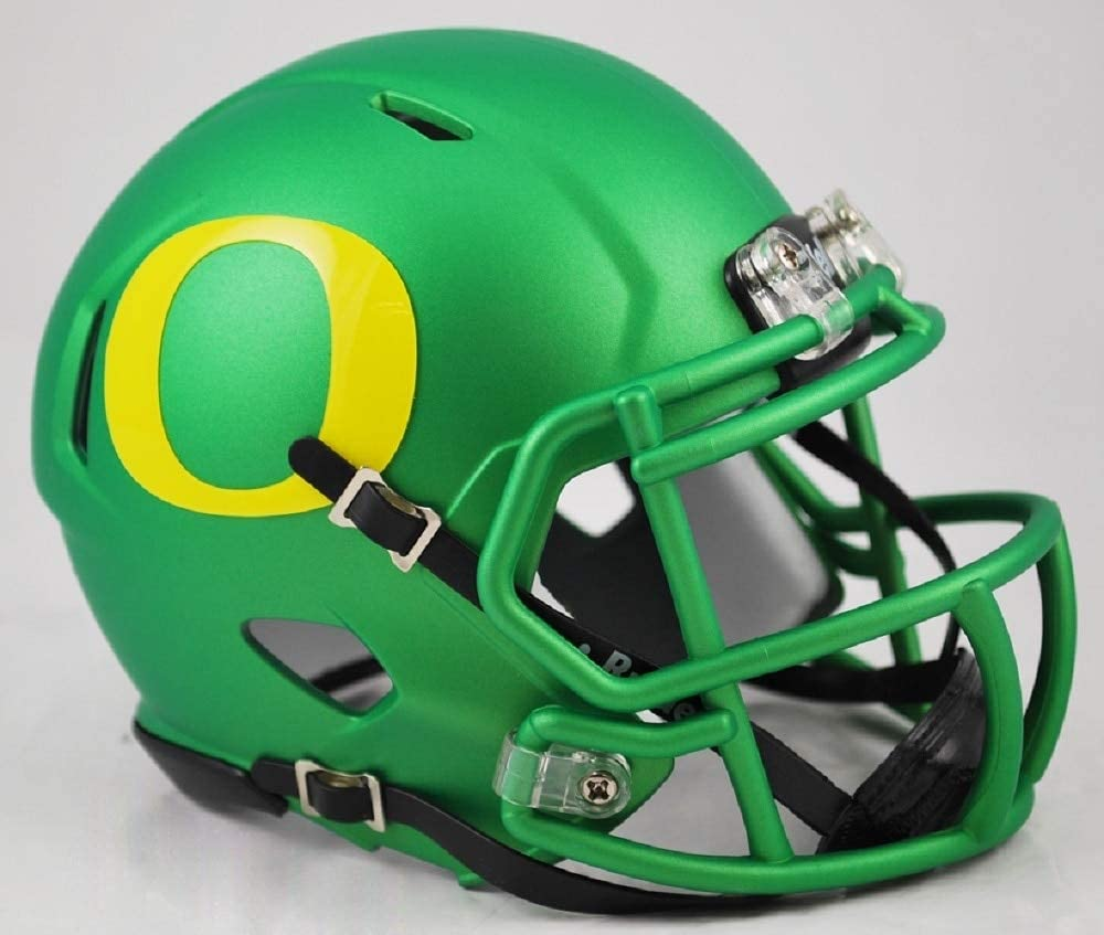 Team Colors Riddell NCAA Oregon Ducks Helmet Mini Speed One Size