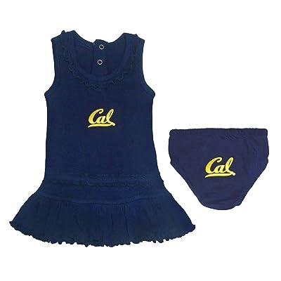 Creative Knitwear Baby Girl University of California, Berkeley Tank Dress with Bloomer Set