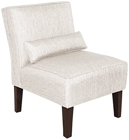 Awe Inspiring Amazon Com Metropol Groupie Oyster Fabric Slipper Chair Bralicious Painted Fabric Chair Ideas Braliciousco
