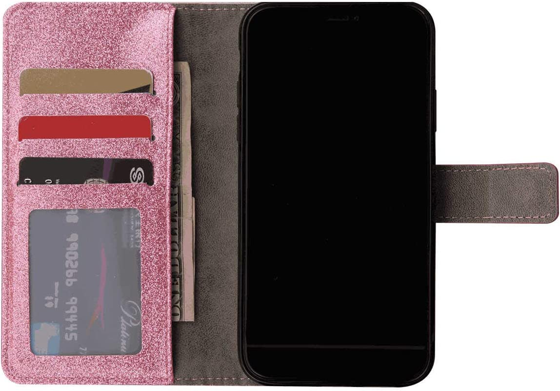Cover for Leather Kickstand Wallet Cover Extra-Protective Business Card Holders Flip Cover Samsung Galaxy S10 Plus Flip Case
