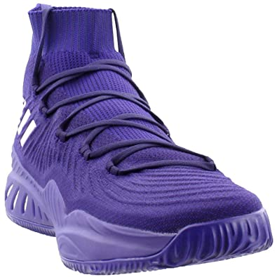 Image Unavailable. Image not available for. Color  adidas Mens AS Crazy  Explosive 2017 Primeknit - Parker Athletic   Sneakers Purple a8929d2ef1aa