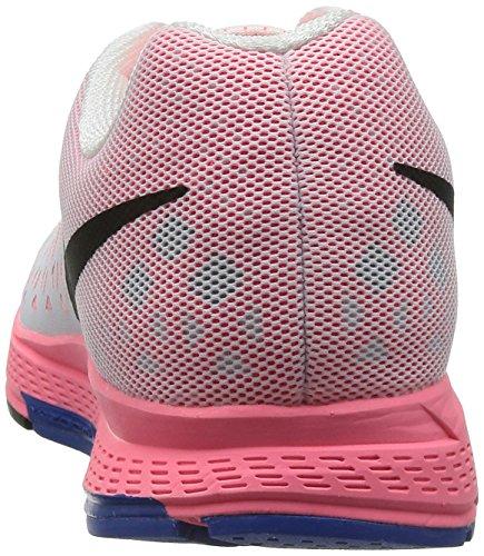 Nike Zoom Pegasus 31 Bianco / Nero-hypr Punch-hypr Scarpe Da Corsa Cobalt Mens Us 11.5