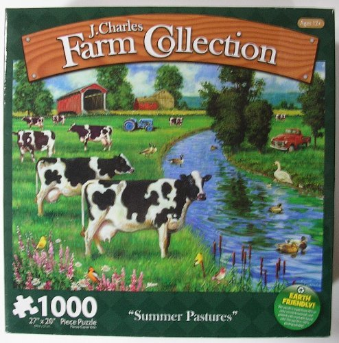 tomar hasta un 70% de descuento J. Charles Farm Collection 1,000 piece Summer Pastures by Karmin Karmin Karmin International  moda clasica