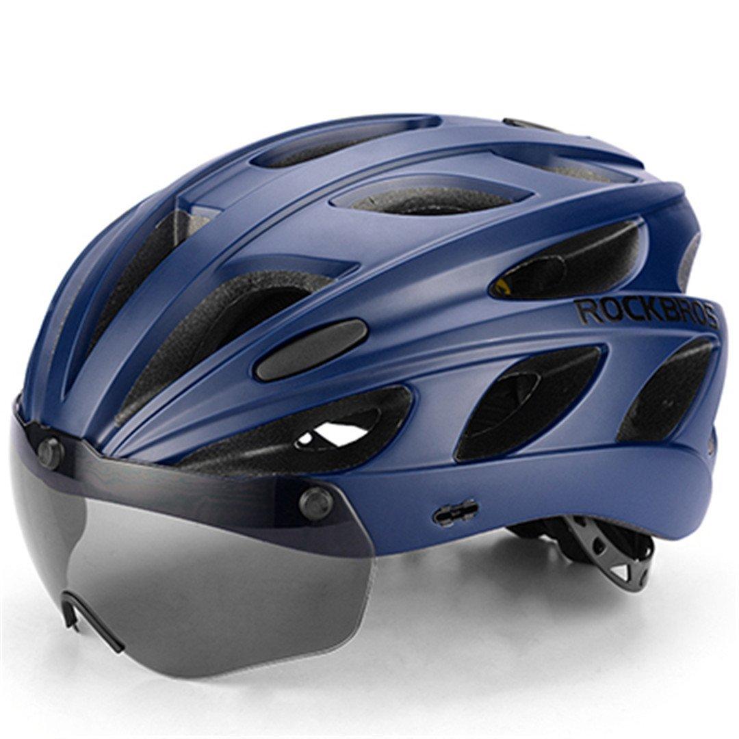 Fahrrad Helme Ultralight Magnetic Goggles MTB Mountain Road Radfahren Helme mit Brille