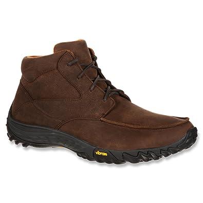 Amazon.com | Rocky Men\'s SilentHunter Chukka Leather Casual Boots ...