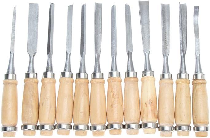 Herramientas de Tallado de Madera Para Manualidades Cincel de Mano Para Tallado