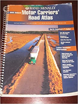 Motor carriers 39 road atlas united states canada mexico for Motor carriers road atlas download