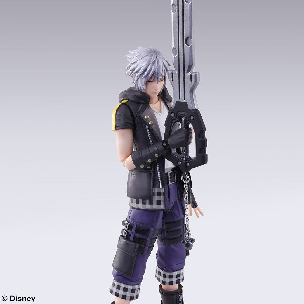 Riku Bring Arts Action Figure Square Enix Kingdom Hearts 3