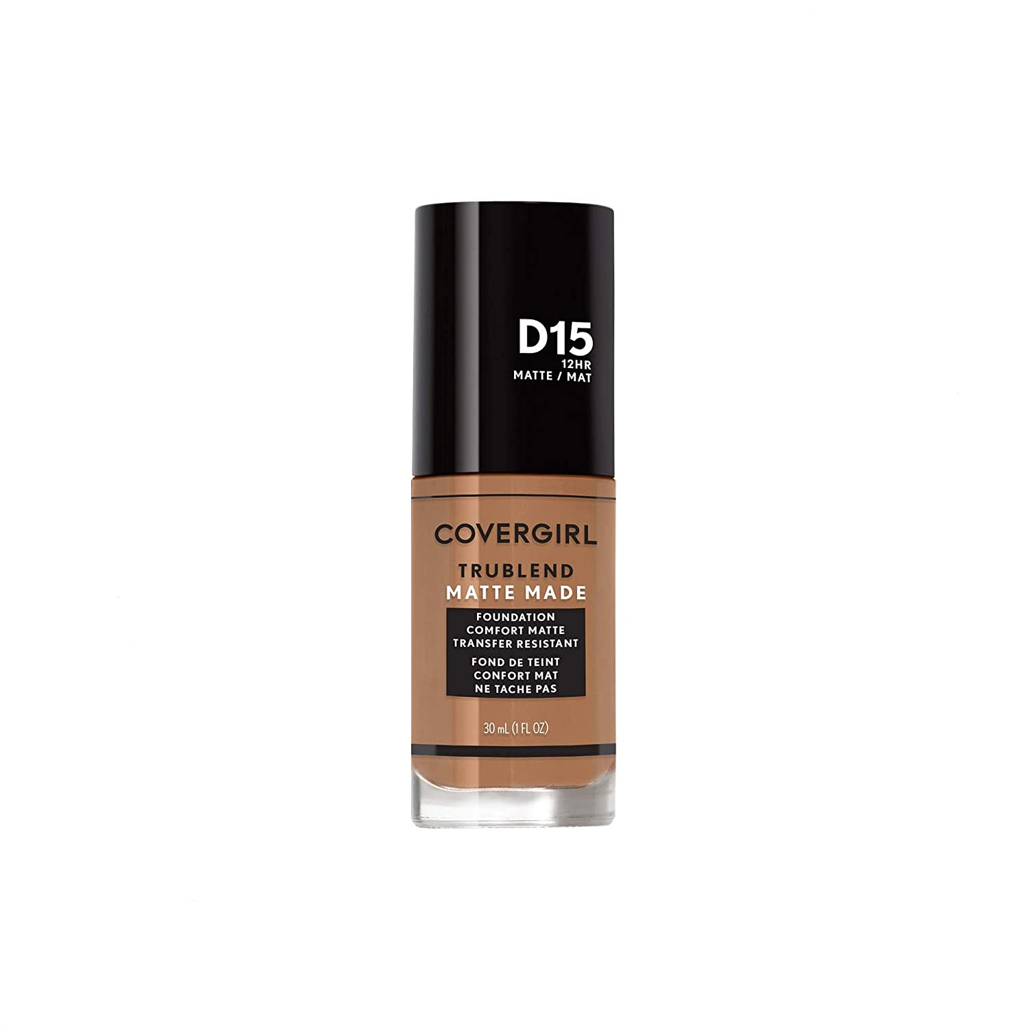 Covergirl TruBlend Matte Made Liquid Foundation, Warm Tawny
