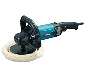 Makita 9237C 10 Amp 7-Inch Variable Speed Polisher/Sander for detailing and polishing