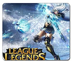 Customized Fashion Style Textured Surface Water Resistent Mousepad Ashe League Of Legends High Quality Non-Slip Gaming Mouse Pads by runtopwell