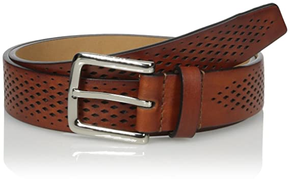 1382b813301 Cole Haan Men s Washington Grand 32mm Laser Perf Belt at Amazon ...