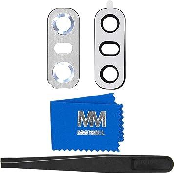 MMOBIEL Reemplazo Lente para Cámara Trasera (Posterior) Compatible con LG G6 Series (Ice Platinum) con Pinzas, Limpiador: Amazon.es: Electrónica