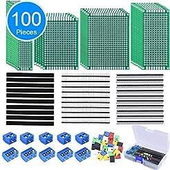 AUSTOR 100 Pcs PCB Board Kit Including 3...