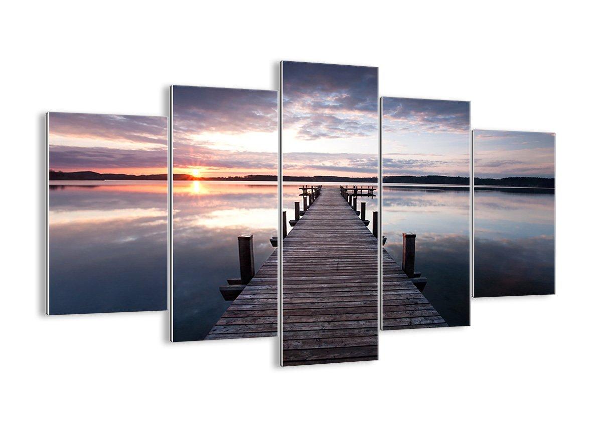 Bild auf Glas - Glasbilder - fünf Teile - Breite  150cm, Höhe  100cm - Bildnummer 2635 - fünfteilig - mehrteilig - zum Aufhängen bereit - Bilder - Kunstdruck - GEA150x100-2635