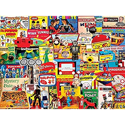 White Mountain Puzzles I Remember Those - 300 Piece Jigsaw Puzzle: Toys & Games