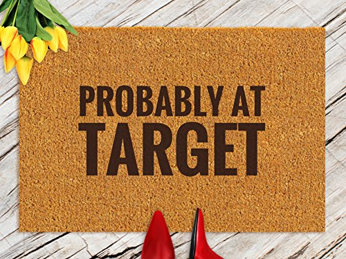 DKISEE Indoor Outdoor Entrance Rug Floor Mat Bathmat Probably At Target Rubber Doormat, 15.7