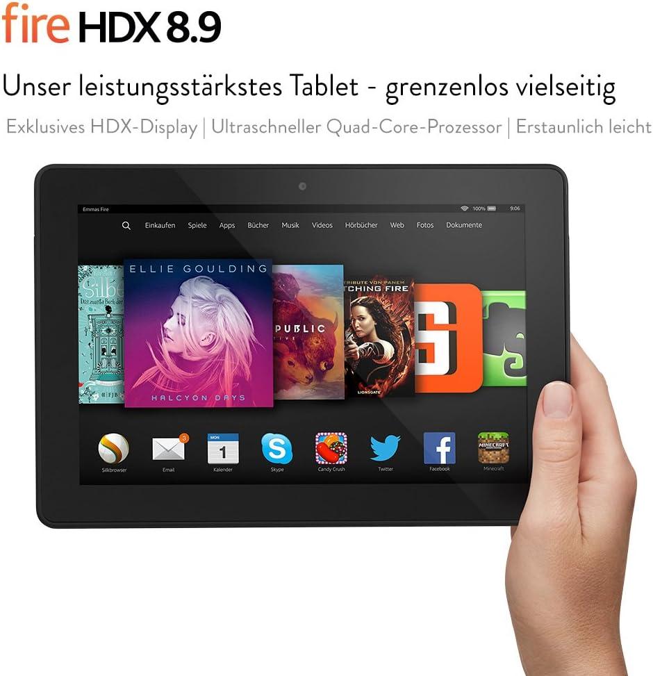 Fire Hdx 8 9 22 6 Cm 8 9 Zoll Hdx Display Wlan Und 4g Lte 64 Gb Amazon Devices
