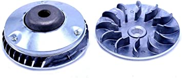 Clutch Variator, Front Driver Pulley compatible with Hammerhead SS 250 / GTS 250 part # 172MM-A-051101, CFMOTO 250cc Gokart, Scooter