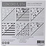 Concord & 9th 10187 Patterned Paper Pad 6''X6'' 24/pkg-Floral Fill-in