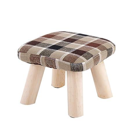 Enjoyable Amazon Com Childrens Wooden Stool Creative Cute Square Short Links Chair Design For Home Short Linksinfo