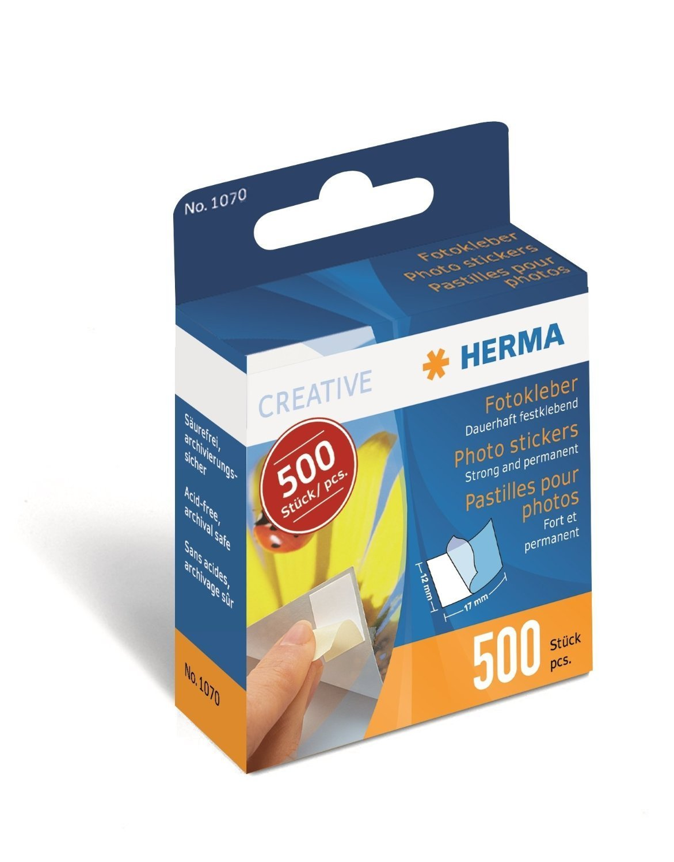 12mm x 17mm 1000pcs Herma Photo Stickers