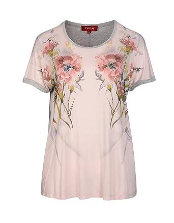 237261224729 THEA by Adler Mode Damen Shirt im Patch-Style - Top, T-Shirt, Blusenshirt,  Langarmshirt - Große Größen  Amazon.de  Bekleidung