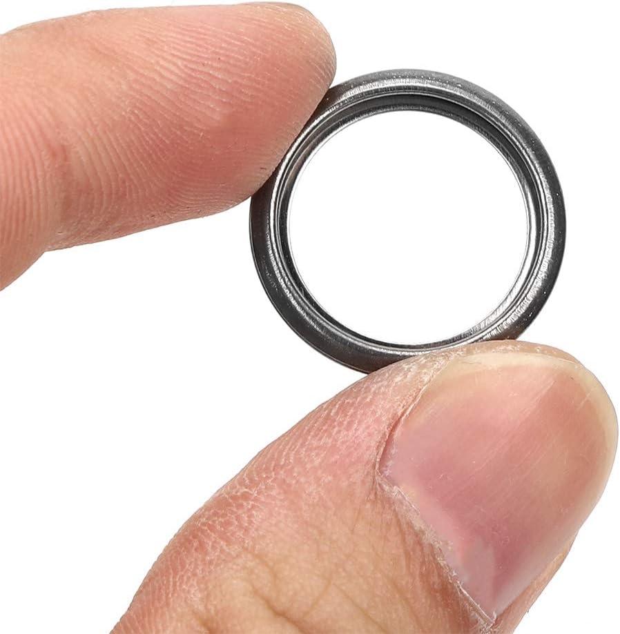 10pcs Aluminium Alloy Oil Drain Plug Crush Gaskets 16mm ID 803916010 Replacement Parts Fit for Subaru Oil Drain Plug Washer