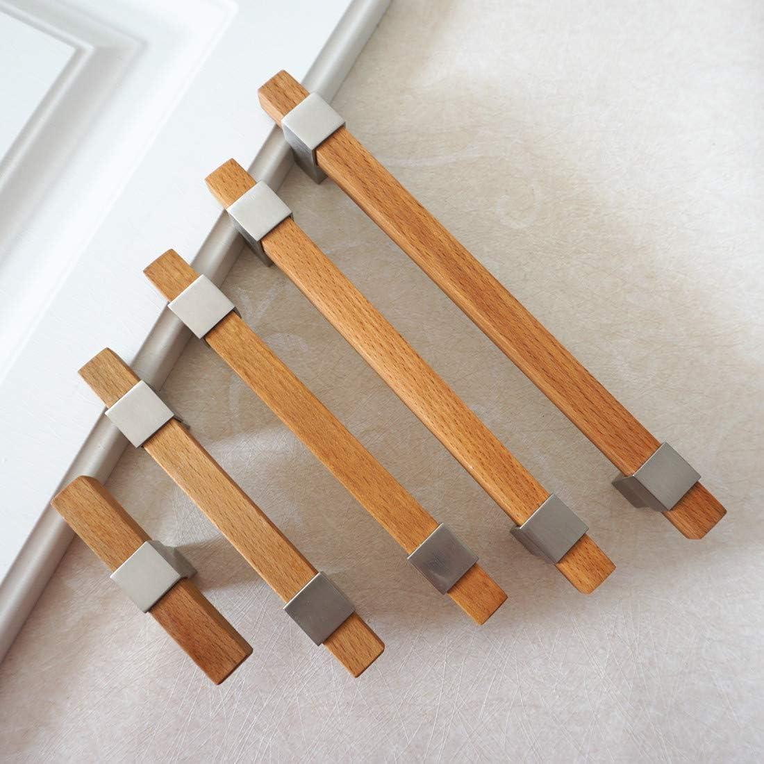 LBFEEL - Tirador de madera para armario, de 9,5 cm, 16,5 cm, 16,5 cm, 19,2 cm, 160 192 mm: Amazon.es: Bricolaje y herramientas