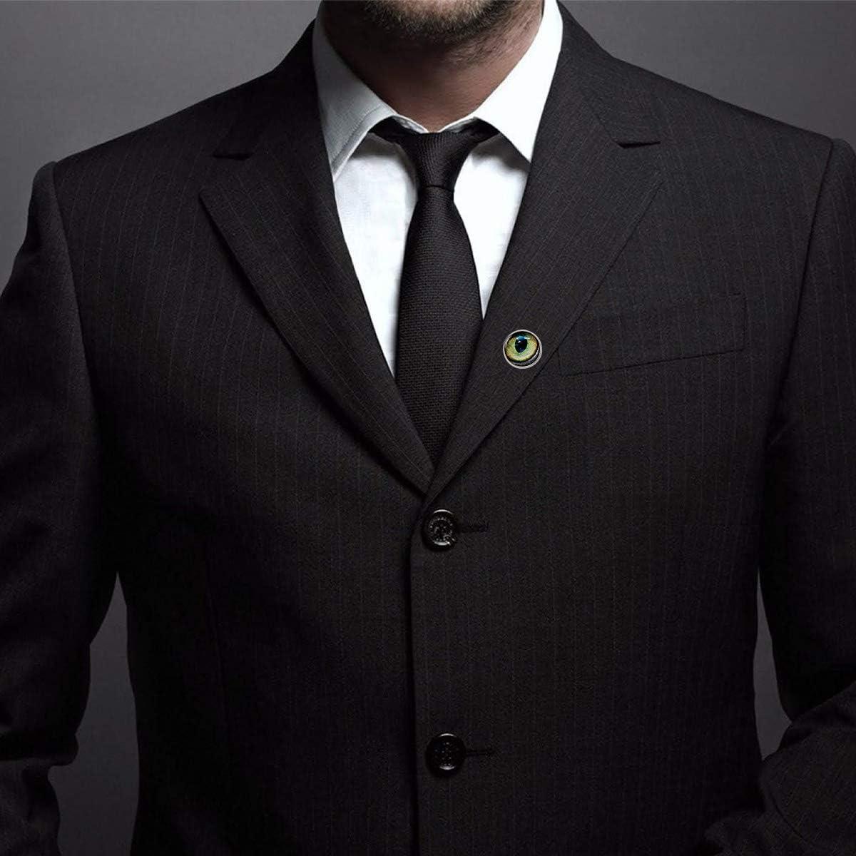 Custom Lapel Pin Brooches Print Paint Animal Eyes Banquet Badge Pins Trendy Accessory Jacket T-Shirt Bag Hat Shoe