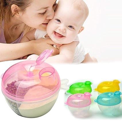 Gaddrt - Dispensador de leche portátil para bebés y bebés F: Amazon.es: Bebé