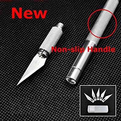 5 Blades Wood Carving Tools, Wood Carving Knife Set Fruit Food Craft Sculpture Engraving Knife Scalpel DIY Cutting Tool PCB Repair For Both Beginners and Professional.