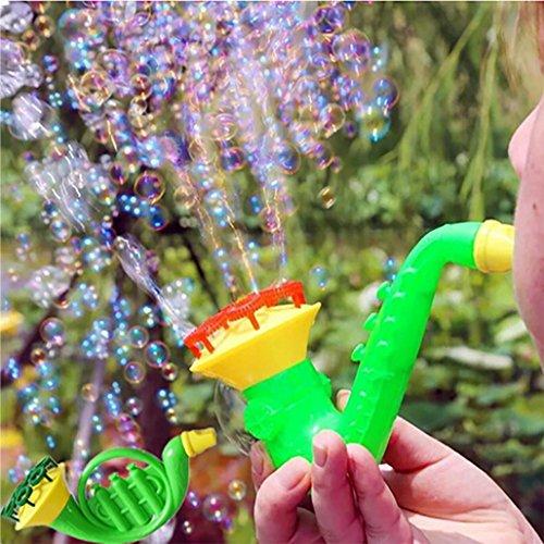 Water Bubble Blowing Blaster Toys, Fullfun Kids Child Outdoor Bubble Gun Soap Bubble Blower