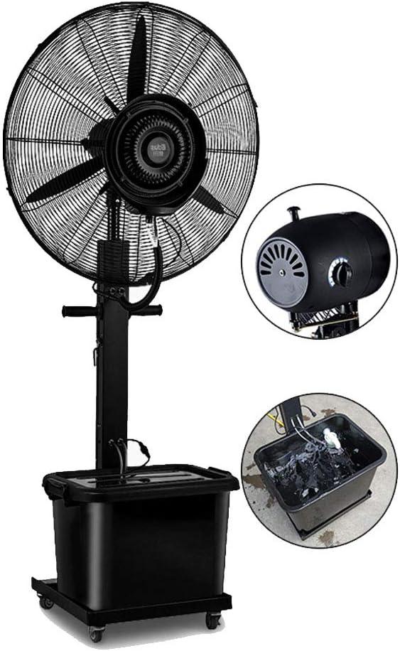 Ventilador de Piso Ventilador oscilante nebulizador Agregue Agua ...