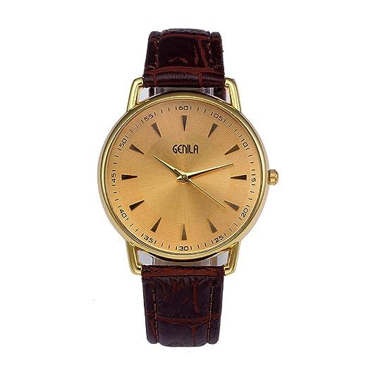 Relojes Mujercuarzo Precio Relojes Originales Mujer Correa De Color De Moda De Los Hombres Correa De Cuero Del Dial Digital Relojes De Pulsera De Cuarzo ...