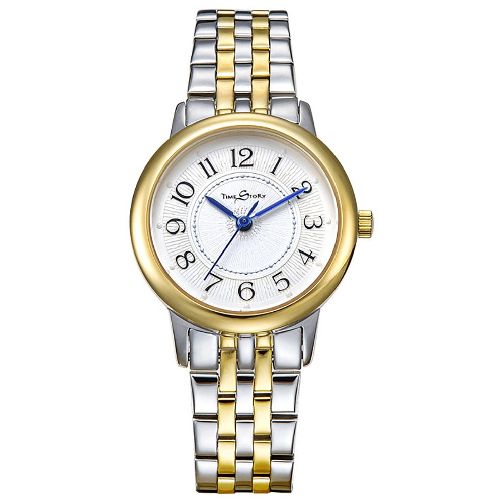 時間ストーリーWomens Quartz Watch B01J50RZP8