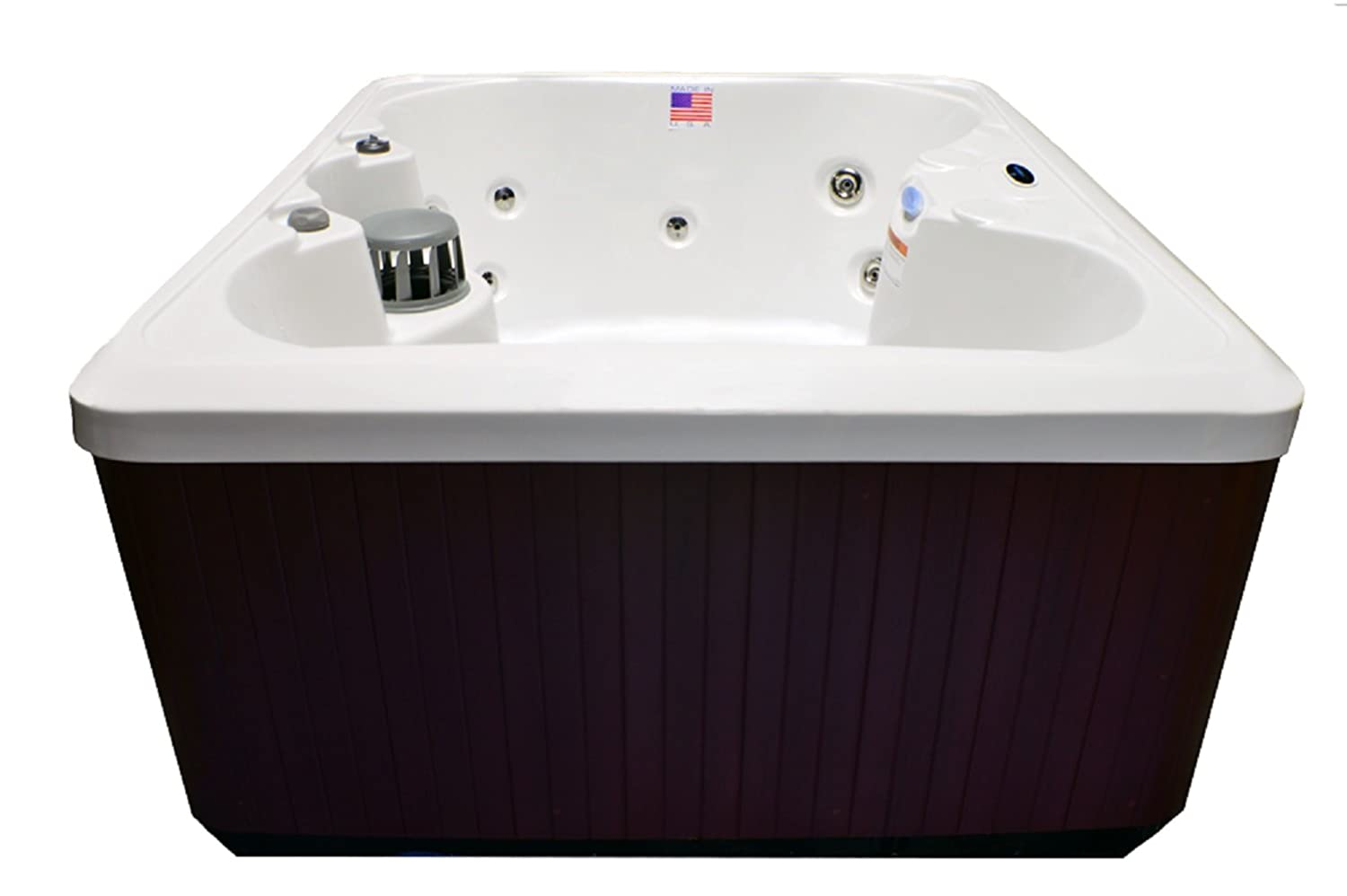 with tubs spas series reviews tub x hot by extras waterfall in bullfrog seat