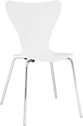 Modway EEI-537-WHI Ernie White Dining Side Chair