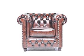 Amazonde Original Chesterfield Sessel 1 Sitzer Vollständig