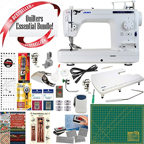 JUKI TL2010Q Long-Arm Sewing & Quilting Machine w/ Quilte...