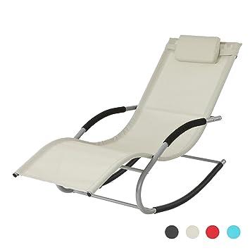Transat chaise longue for Chaise longue jardin babou