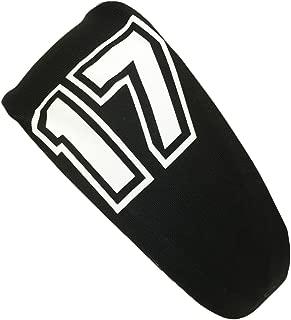 product image for MadSportsStuff Player ID Black/White Headband Basketball Volleyball Softball Soccer