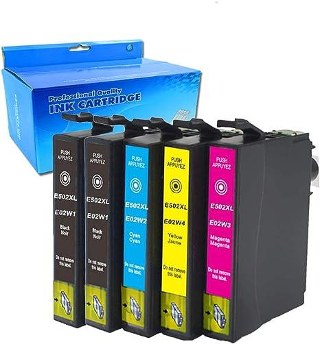 Teng® - Cartuchos de Tinta compatibles con Epson 502 XL para Epson ...